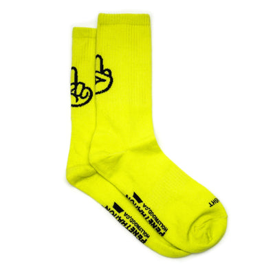 BIRDIE SOCKS | Safety Yellow
