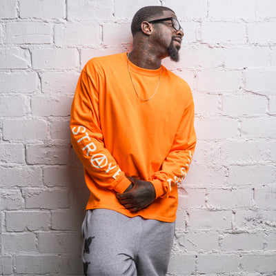 TRAP L/S T-SHIRT • SAFETY ORANGE