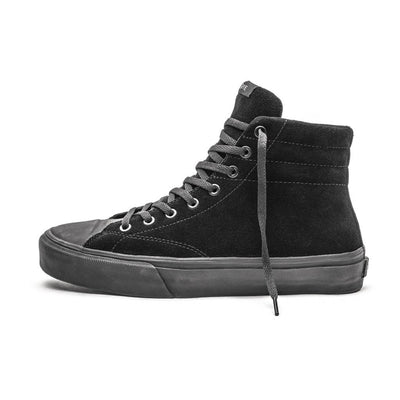 VENICE / RTD BLACK BLACK SUEDE / Lateral View