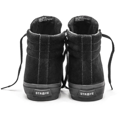 VENICE / RTD BLACK BLACK SUEDE / Back View