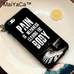 MaiYaCa Motivational Phone Case for iPhone 6 6s