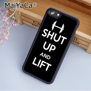 MaiYaCa Funny Lifting Quote Phone Case