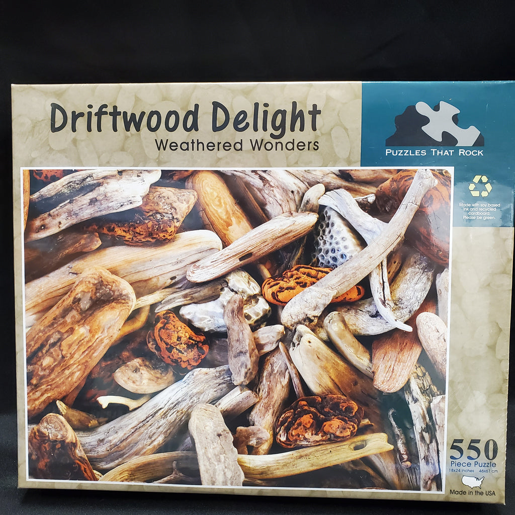 Driftwood Delight Puzzle Picture