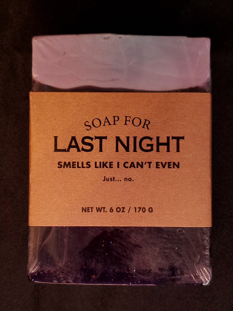 Soap For Last Night