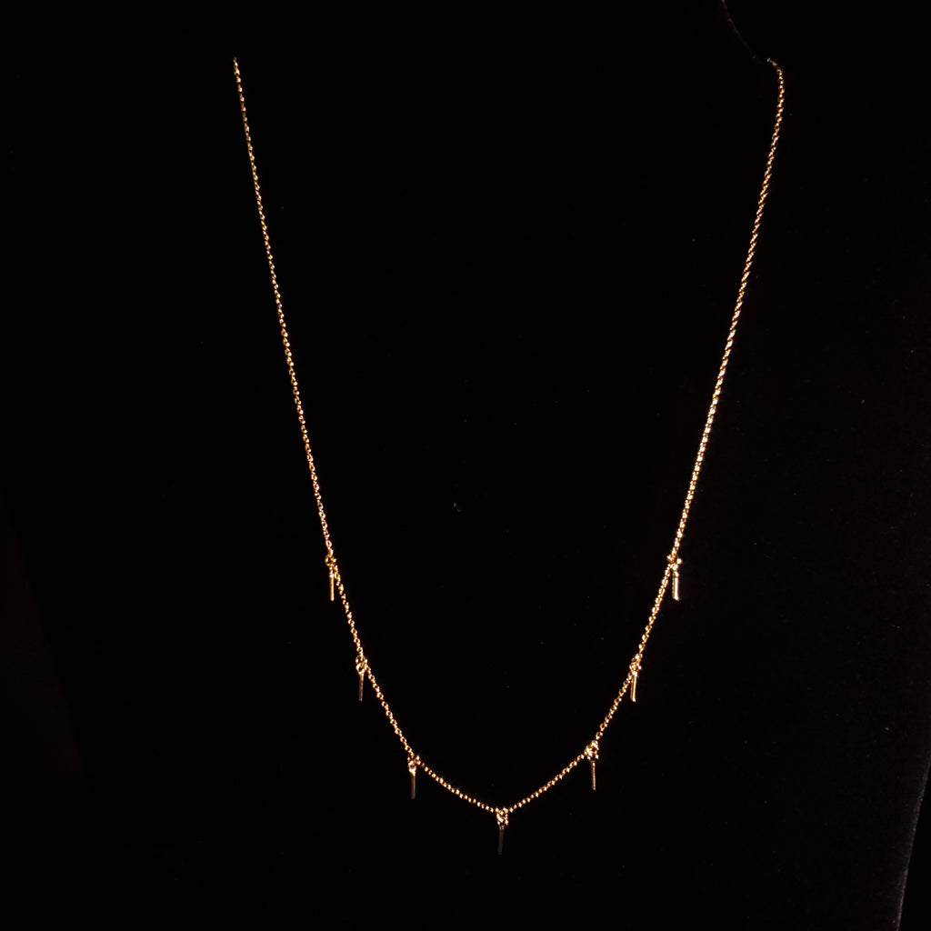 5 Mini Bar Necklace
