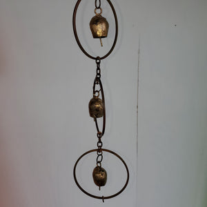 Hanging Circle With Bells Chime