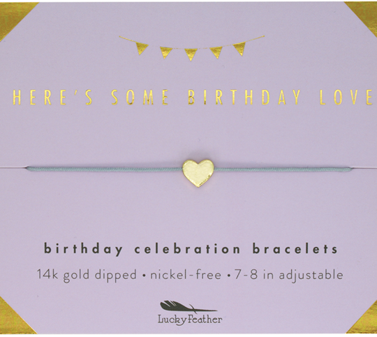 Here's Some Birthday Love Bracelet