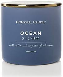 Pop of Color Candle: Ocean Storm