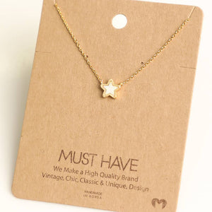 Opalescent Star Necklace