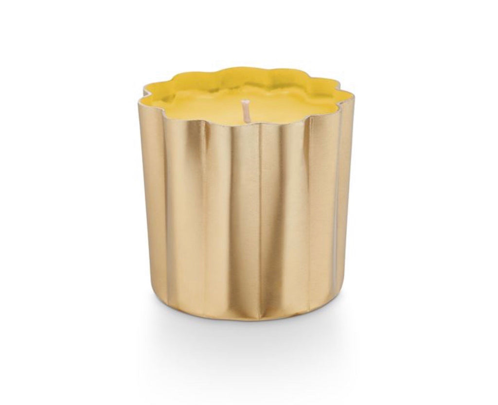 Go Be Lovely Mini Metal - Golden Honeysuckle Candle