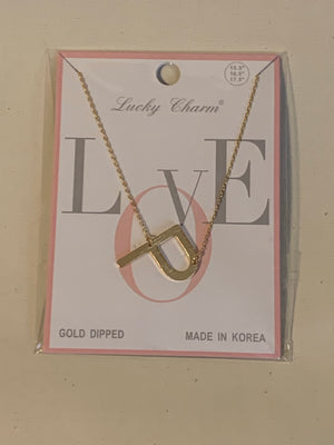 Love Letters Initial Necklace