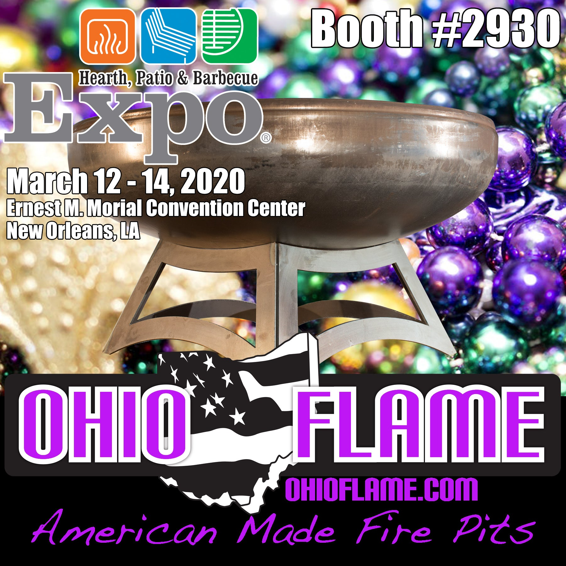 Ohio Flame Heads Back to New Orleans!