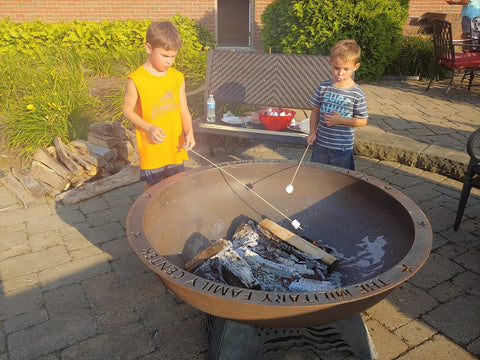 Military Family Center Fire Pit