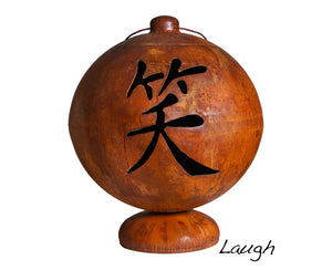 """LIVE, LAUGH, LOVE"" FIRE GLOBE™ (MADE IN USA)"