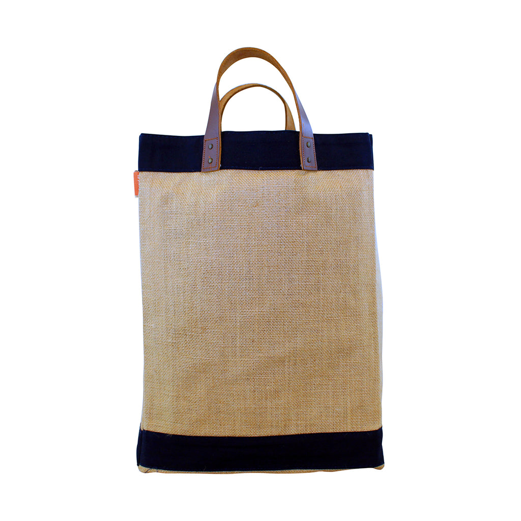 Jute Market Bag Custom Embroidered