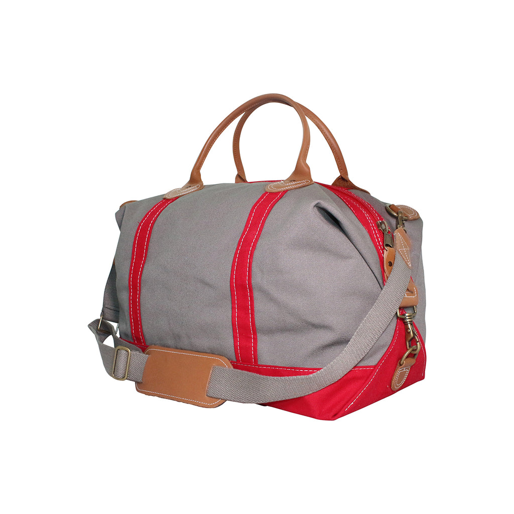 Canvas Weekender Custom Embroidered