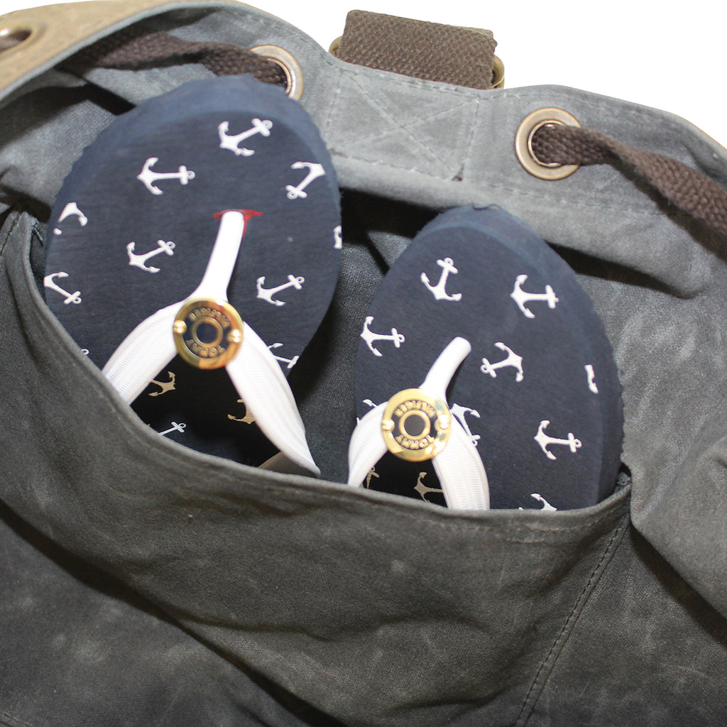Laundry Duffle Custom Embroidered