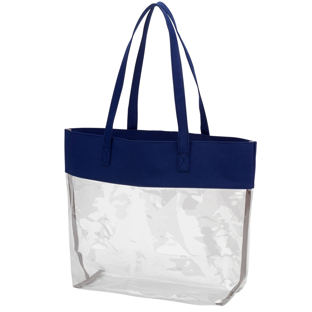 Clear Tote Custom Embroidered