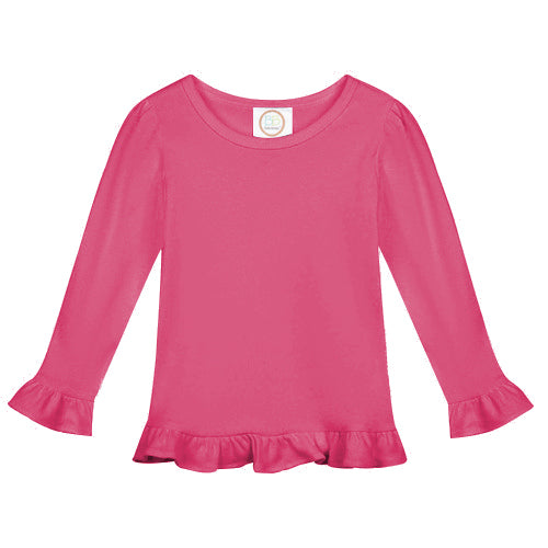Kids Long Sleeve Shirt (Youth & Toddler) with Personalized Applique