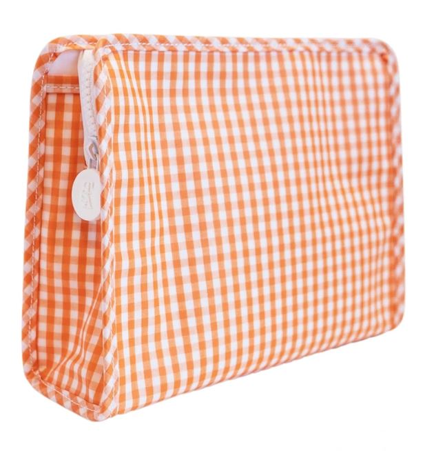 Gingham Zip Bag Medium