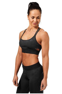 Better Bodies Black Camo Astoria Sports Bra