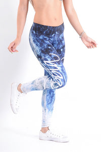 NEBBIA Art Blue Leggings