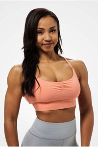 Better Bodies Chelsea Sports Bra, Peach