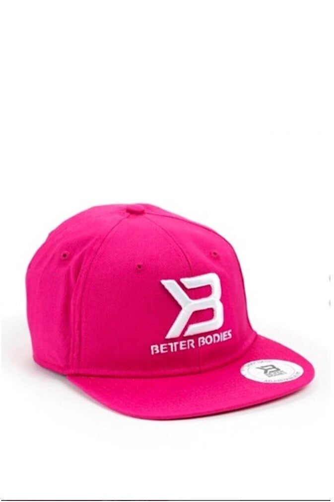 Better Bodies Flat Bill Cap, Pink