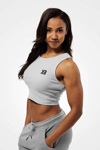 Better Bodies Astoria Laced Tank, Frost grey