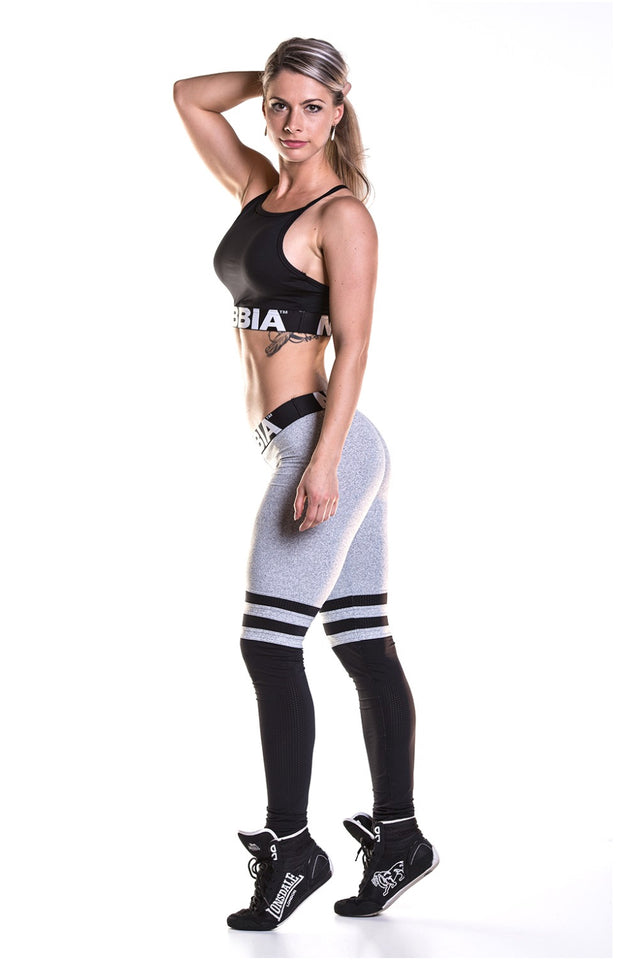 NEBBIA Leggings Over the Knee, Thigh High, Scrunch butt leggings