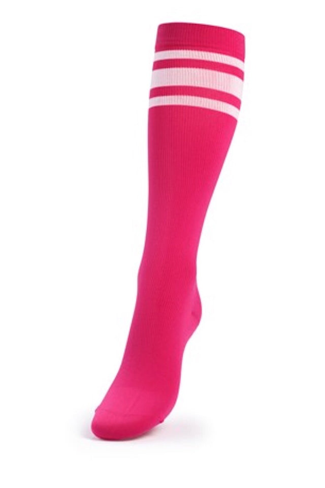Better Bodies Lifting Knee Socks, Pink