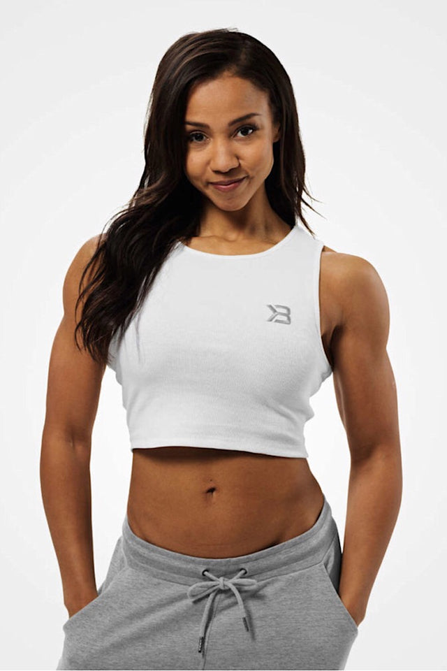 Better Bodies Astoria Laced Tank, White