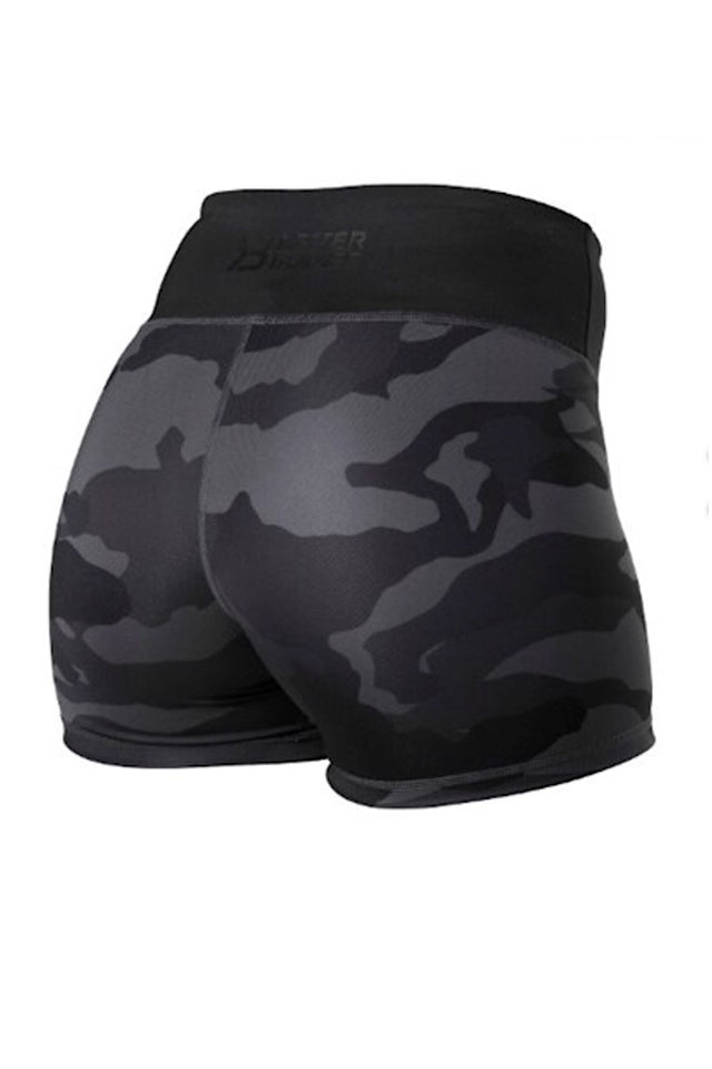 Better Bodies Chelsea Hotpants, Black Camo