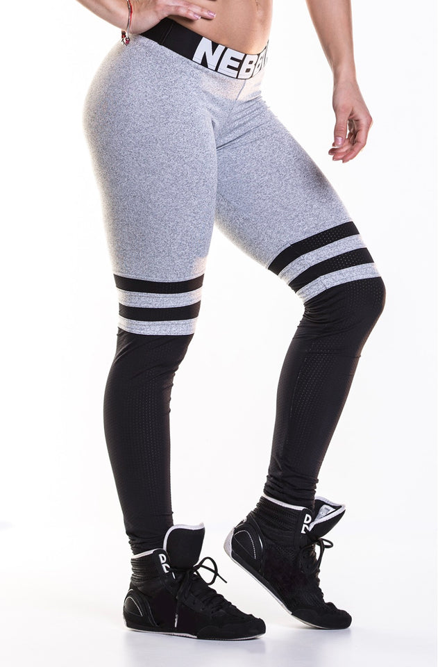 NEBBIA Leggings Over the Knee. Thigh high, Scrunch butt leggings