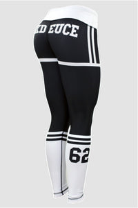 Six Deuce X-Fit Jersey Fitness Leggings, Sox leggings, Tights, yoga pants, fit wear, fitness wear, fitness apparel, athletic wear, athletic apparel, athleisure, squat proof leggings