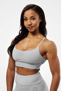 Better Bodies Chelsea Sports Bra, Frost Grey
