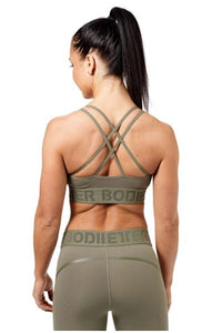 Better Bodies Wash Green Astoria Sports Bra