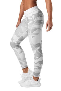 Better Bodies White Camo Chelsea Tights