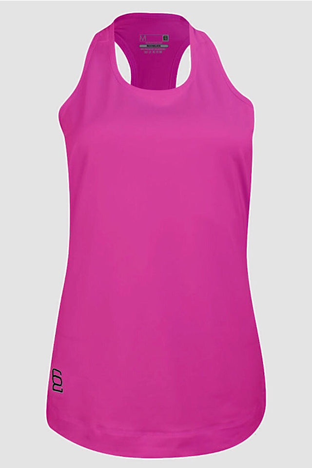 Six Deuce Pink Tank Top, Long top, coverup, racer back tank top, workout top, activewear for women, fit wear, fitness wear, fitness apparel, athletic wear, athletic apparel, athleisure