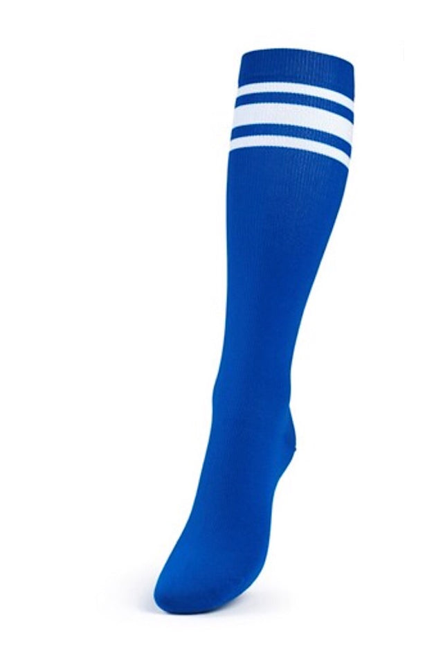 Better Bodies Lifting Knee Socks, Strong Blue