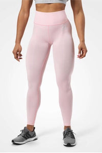 Better Bodies Rockaway Tights, Pale Pink
