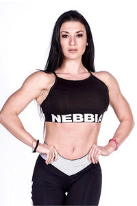 Nebbia Black Mini Top