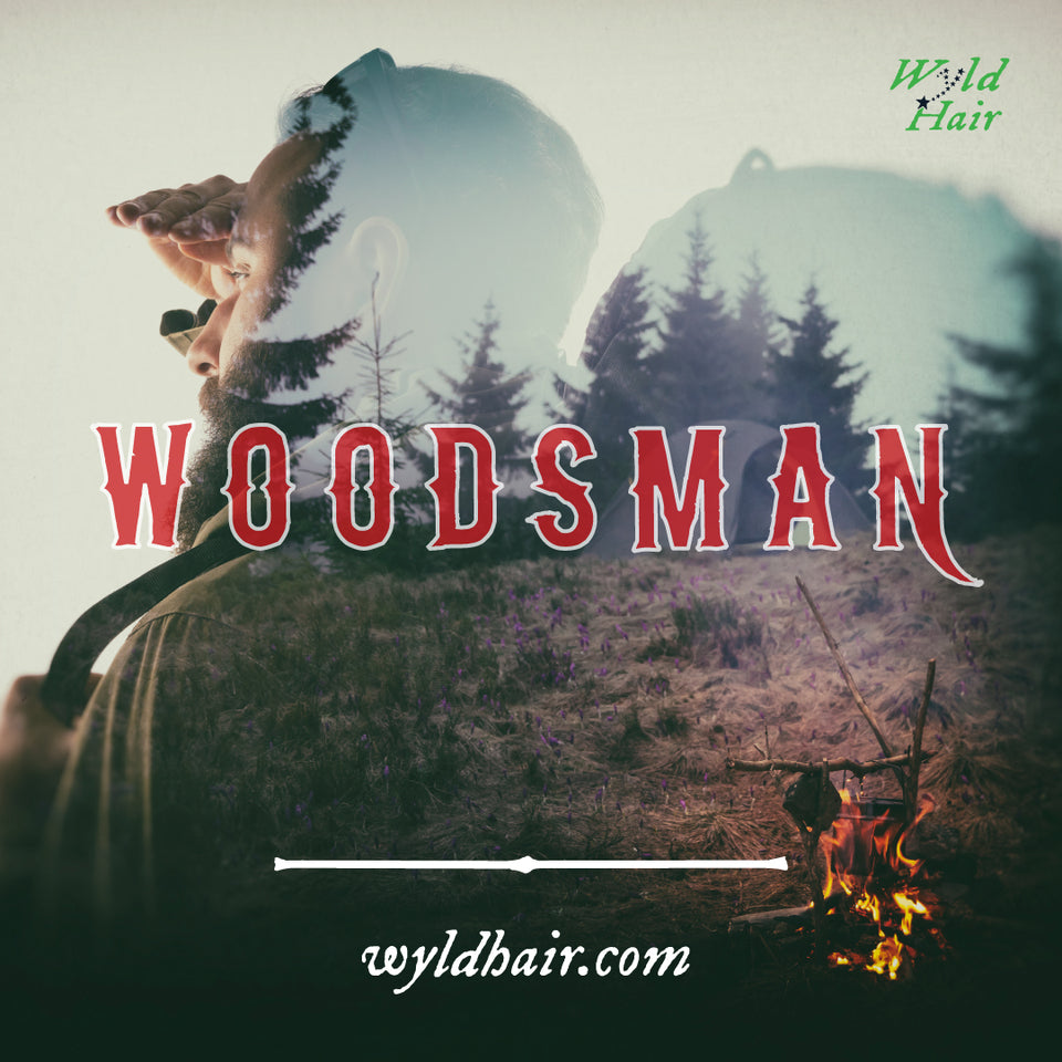 woodsman wyld hair beard oil
