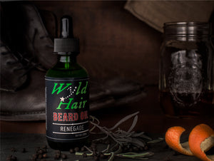 Renegade Beard Oil (2 oz) - Wyld Hair Beard Oil