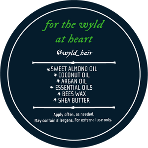 Woodsman Beard Balm - Wyld Hair Beard Oil