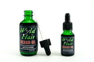 Woodsman Beard Oil (Combo) - Wyld Hair Beard Oil
