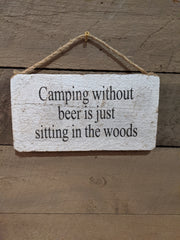 Camping without beer