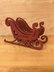 Small Red Sleigh