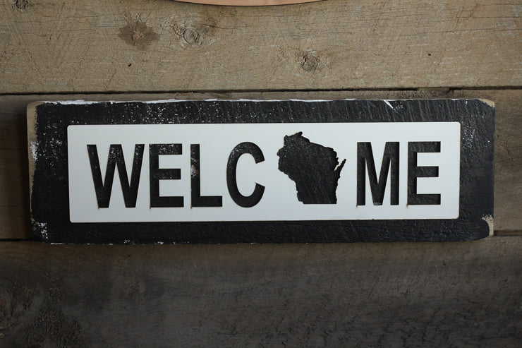 Wisconsin Welcome Sign