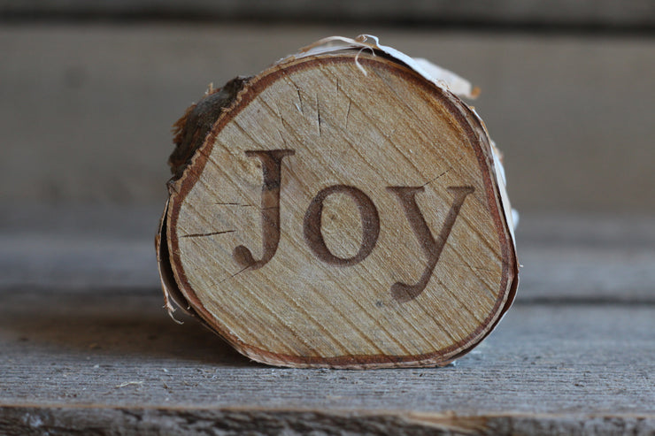 Joy Printed Birch Disc